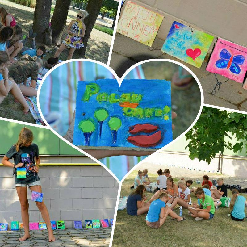 Omanäolised Tähtvere Tantsukeskuse suvelaagris (lapsed vanuses 7-20)